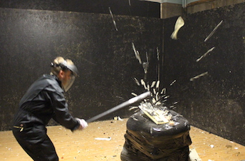 Buckt - Things to do in Birmingham - Rage Room 1