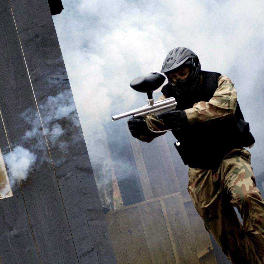 Buckt - Things to do in Birmingham - Paintball Stock 2